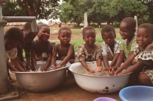 african children_water_basins