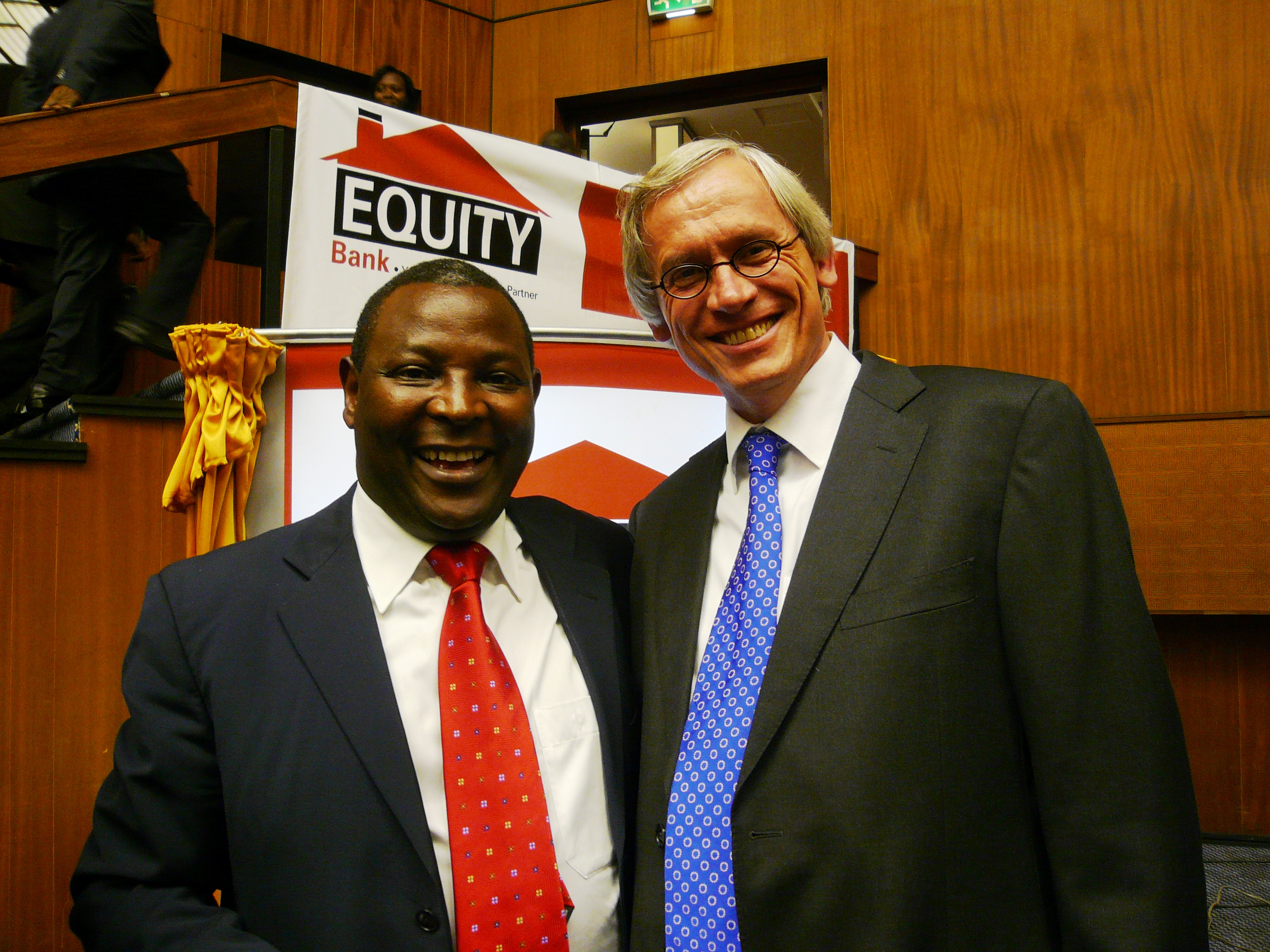 Equity Bank C.E.O James Mwangi